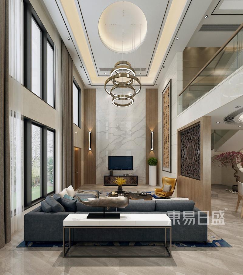 富盈加州阳光 现代风格 客厅