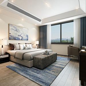 极简风格卧室装修效果图