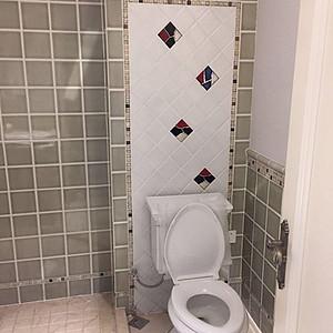 大连简欧装修-卫生间