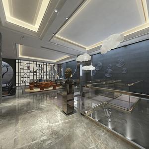 保利首开天誉-港式风格-茶文化区