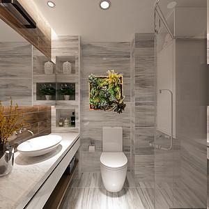 现代风格-卫生间