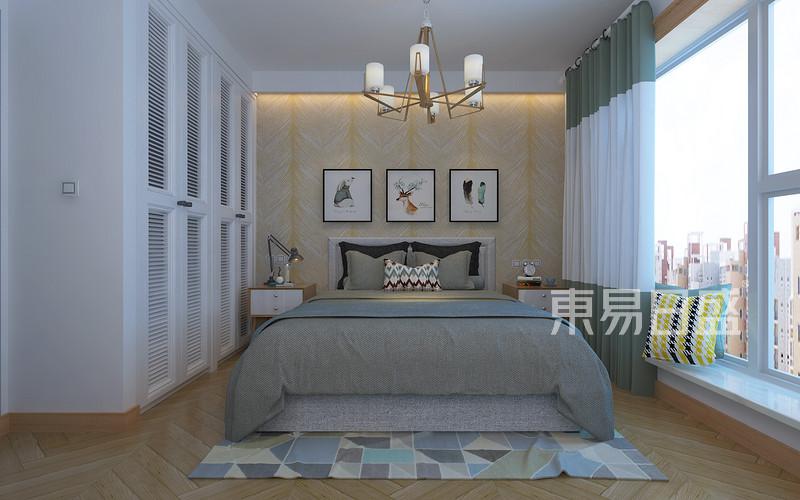 现代前卫风格-卧室-装修效果图