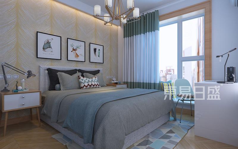 现代前卫 - 现代前卫风格-卧室-装修效果图