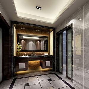 卫生间装修效果图 现代别墅装饰设计