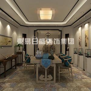 丽景蓝湾-110㎡新中式风格