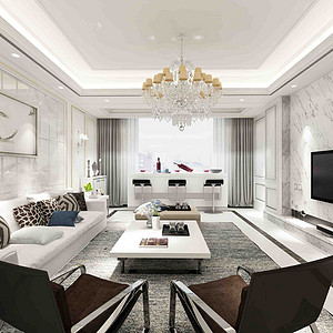 重庆融景城185㎡大平层,设计大咖告诉你当下新房流行怎么装