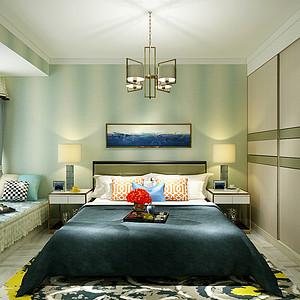 现代简约风格-卧室-装修案例
