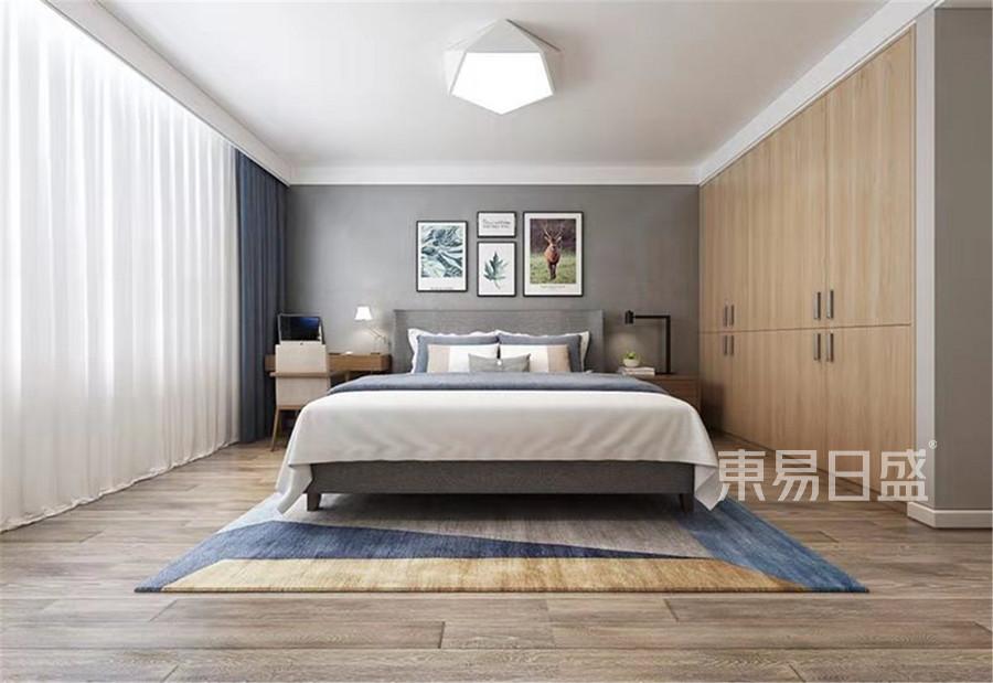 170平米水上花园现代简约风格卧室装修效果图