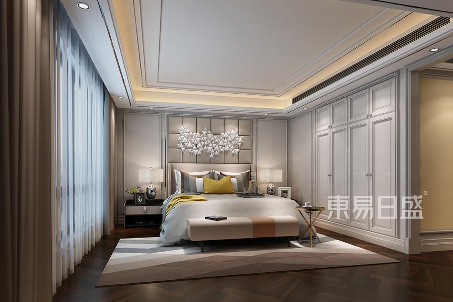 清水公寓现代简约风格卧室效果图