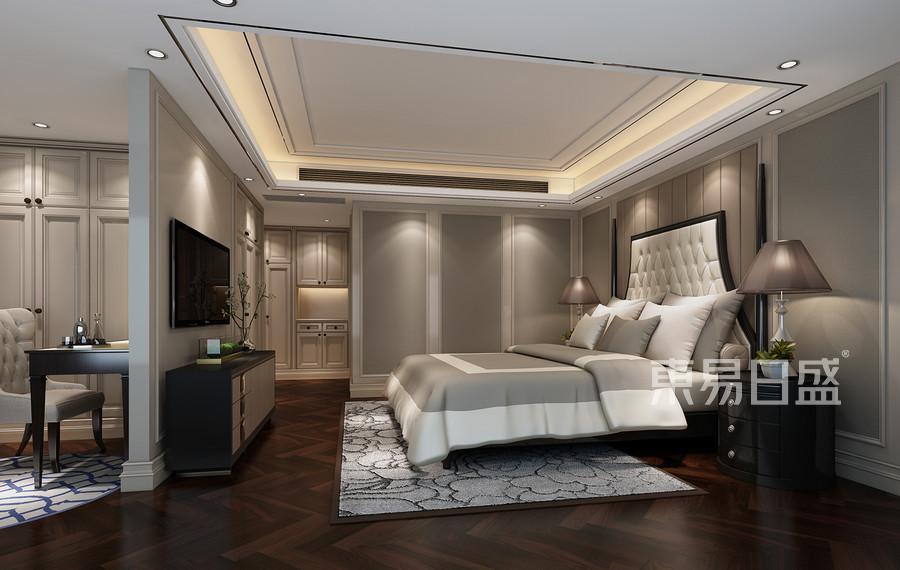 清水公寓现代简约风格客厅效果图