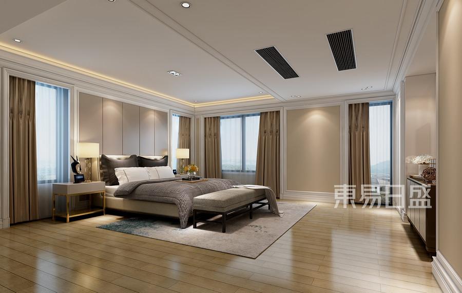 仁和自建房现代简约风格卧室效果图