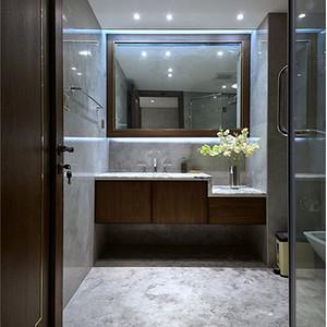 卫生间装修效果图 新中式别墅装饰设计