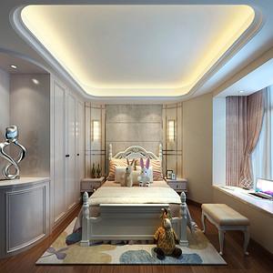 儿童房装修效果图 欧式古典装饰设计