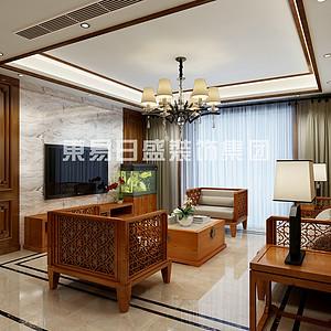 秀兰尚城-139㎡新中式风格
