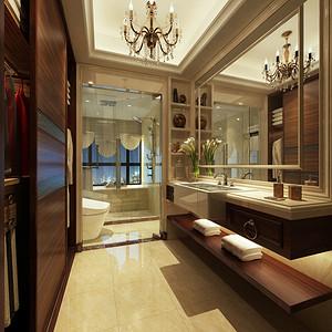 卫生间装修效果图 欧式古典装饰设计