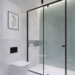 三房二厅北欧极简风卫生间装修效果图