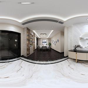 客厅装修效果图-银湖蓝山装修设计方案