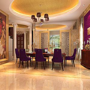 餐厅欧式古典装修效果图