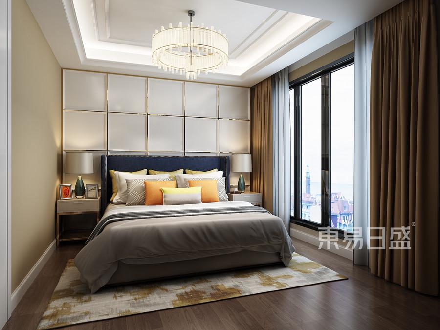 卧室-现代港式-效果图