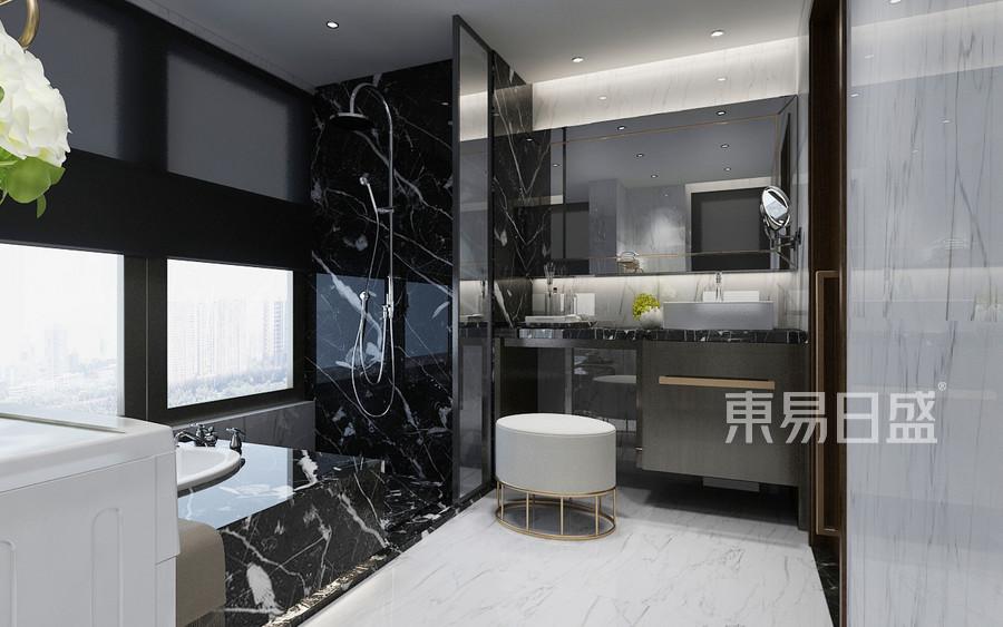 现代轻奢风格卫生间装修效果图