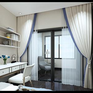 卧室装修效果图-银湖蓝山装修设计方案