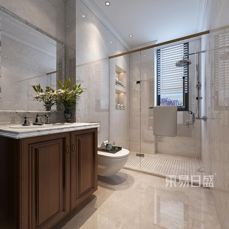 普通住宅-美式-效果图 西安装修公司 http://xa.dyrs.com.cn 优游时时彩装饰公司