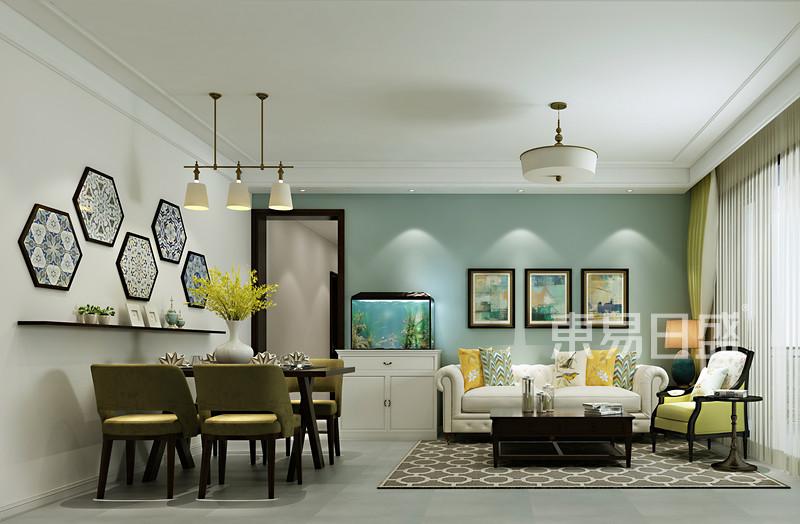 90平方房子客厅装修效果图