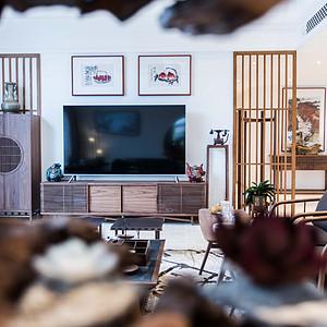 胶河别墅 425㎡ 现代新中式