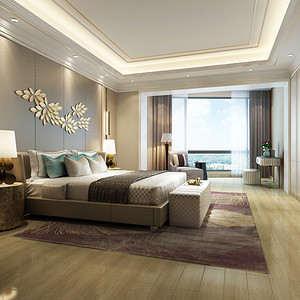 卧室装修效果图-东易日盛装饰