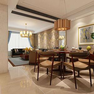 富力十号郦墅-560m²-现代风格