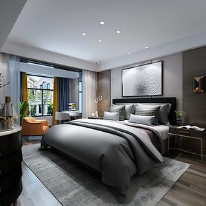 钱江府现代风格卧室