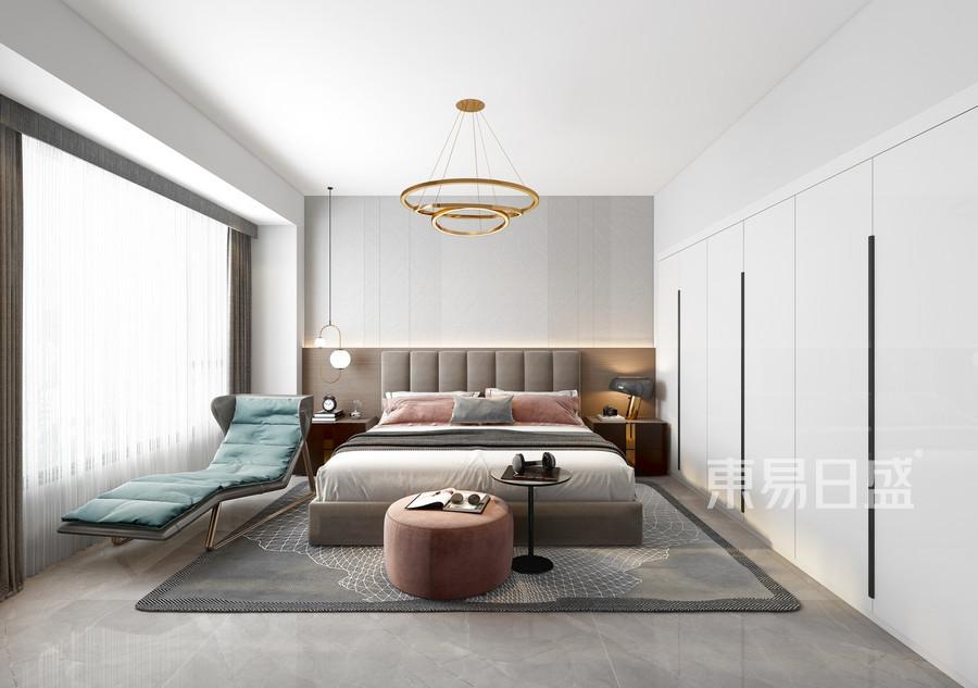 佳兆业可园-现代轻奢-卧室效果图