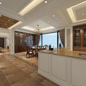 别墅雅致风格厨房装修效果图