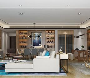 客厅装修效果图-东易日盛装饰设计