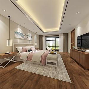紫禁壹号院 现代简约 卧室装饰