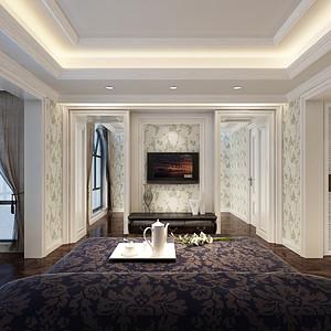 别墅雅致风格卧室装修效果图