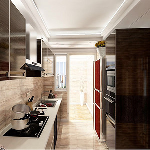 厨房装修效果图-东易日盛装饰设计