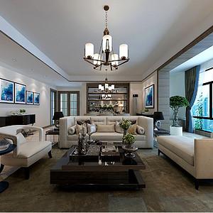 海珀兰轩现代简约158平三室两厅