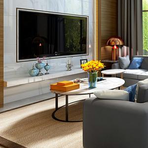 现代混搭客厅:勾勒出独特的空间气质
