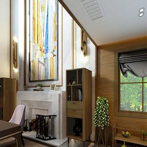 现代混搭客厅:精致的设计艺术画
