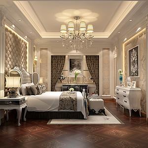 卧室简欧装修效果图