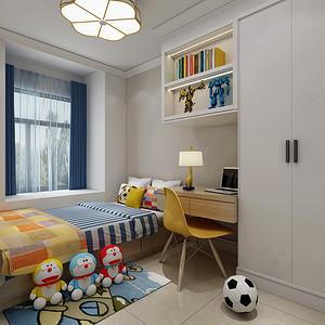 升龙2号院现代风格儿童书房