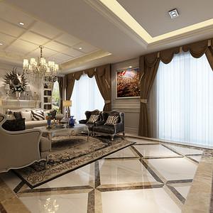 客厅装修效果图-东易日盛装饰