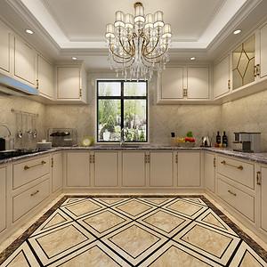 厨房装修效果图-东易日盛装饰