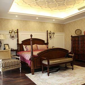 麓山公馆320平米新古典风格卧室概貌