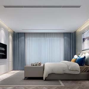 蠡湖香樟园 现代简约 卧室