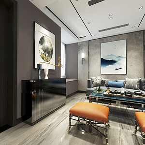 百瑞景240平米现代风格装修效果图