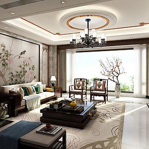 中国会馆400㎡四合院别墅新中式风格