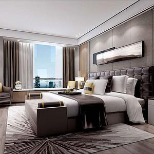 碧桂园·海昌天澜254㎡四居室现代港式风格