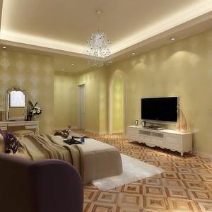 广州珠江新城-卧室装修效果图